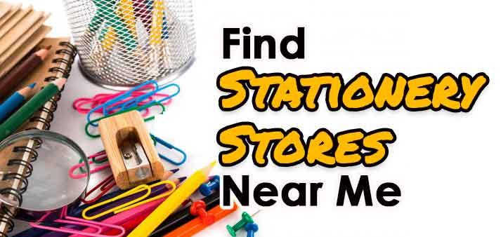 Stationery Shops Near Me [Google Stationary Finder]