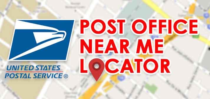 Find The Nearest Post Office Google Usps Locator